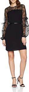 Sukienka amazon.de z okrągłym dekoltem mini