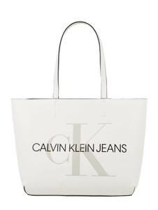 Torebka Calvin Klein w wakacyjnym stylu ze skóry na ramię