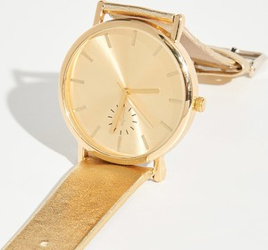 Sinsay - Złoty zegarek - Beżowy