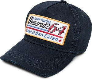 Czarna czapka Dsquared2