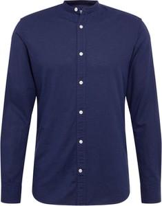 Niebieska koszula Jack & Jones z bawełny