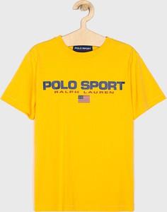 Koszulka dziecięca POLO RALPH LAUREN z krótkim rękawem z bawełny