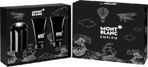 Mont Blanc Emblem EDT 100 ml + balsam po goleniu 100 ml + żel pod prysznic 100 ml