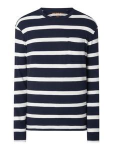 Granatowy sweter McNeal z bawełny