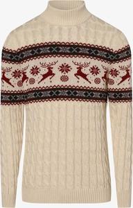 Sweter Selected w młodzieżowym stylu
