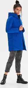 Niebieski płaszcz Cropp