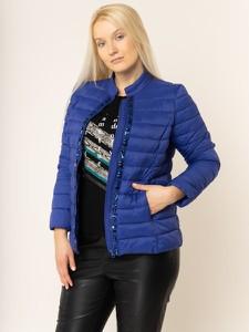 Niebieska kurtka Persona by Marina Rinaldi w stylu casual