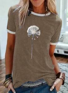 T-shirt Sandbella z krótkim rękawem