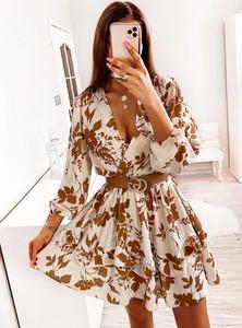 Sukienka Pakuten z długim rękawem mini