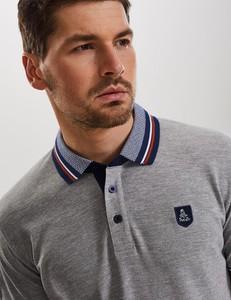Koszulka polo DiverseExtreme w stylu casual z krótkim rękawem