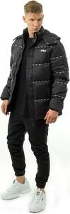 Czarna kurtka Fila