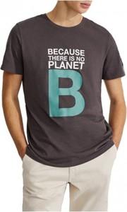 T-shirt Ecoalf z bawełny w młodzieżowym stylu