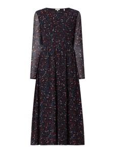 Sukienka S.Oliver Red Label midi z okrągłym dekoltem
