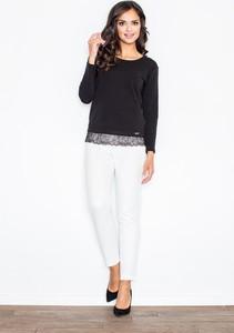Granatowa bluzka Figl z bawełny