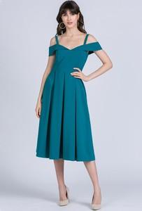 Sukienka Monnari midi z dekoltem w kształcie litery v