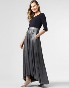 Sukienka Vera Mont Collection z długim rękawem maxi z dżerseju