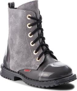 Buty dziecięce zimowe Zarro sznurowane