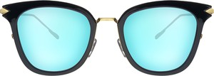 Miętowe okulary damskie Moretti