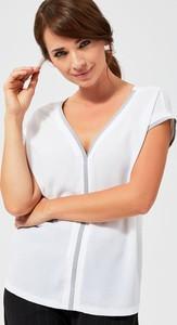 Bluzka Moodo z krótkim rękawem