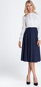616ffc65 rozkloszowana spódnica z wysokim stanem - stylowo i modnie z Allani