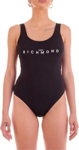 Czarny strój kąpielowy John Richmond