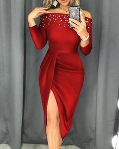 Sukienka Kendallme z odkrytymi ramionami