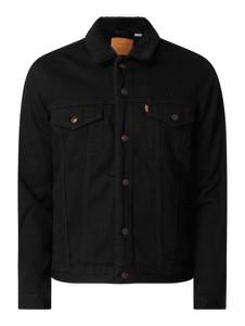 Czarna kurtka Levis w stylu casual