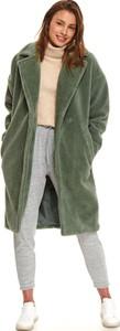 Zielony płaszcz Top Secret w stylu casual
