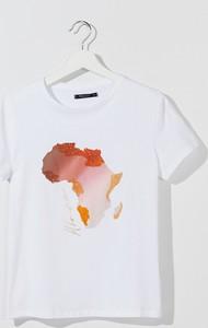 T-shirt Mohito z okrągłym dekoltem z bawełny