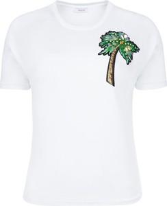 T-shirt iBlues z okrągłym dekoltem z krótkim rękawem