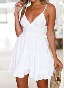 Sukienka Arilook mini na ramiączkach