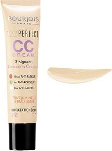 Bourjois, 123 Perfect CC Cream, Krem CC z 3 pigmentami korygującymi, nr 32 Light Beige, 30 ml