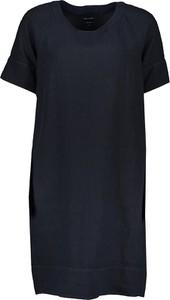 Sukienka Marc O'Polo mini z okrągłym dekoltem