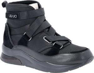 Liu-Jo Liu Jo Sneakersy KARLIE 24 MID | z dodatkiem skóry