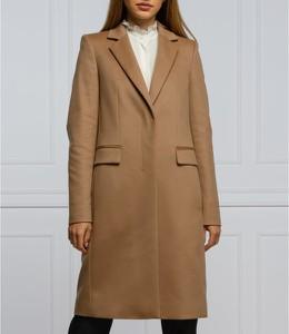Płaszcz Hugo Boss z wełny w stylu casual