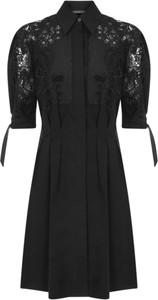 Sukienka Alberta Ferretti mini z długim rękawem