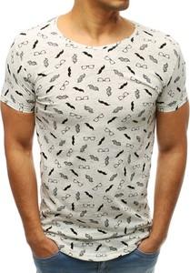 T-shirt Dstreet z krótkim rękawem z tkaniny