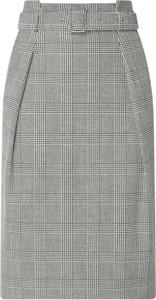 Spódnica Boss z wełny midi