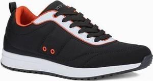 Ombre Buty męskie sneakersy T360 - czarne