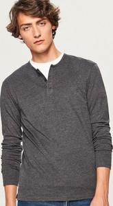 Koszulka z długim rękawem Reserved w stylu casual z długim rękawem