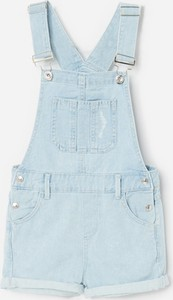 Niebieskie spodenki dziecięce Reserved z jeansu