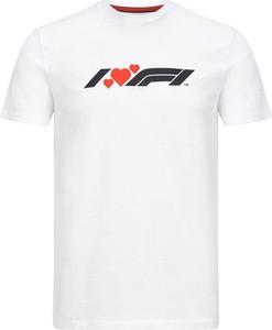 T-shirt Formula 1 z bawełny