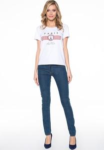 T-shirt Lavard z okrągłym dekoltem z krótkim rękawem