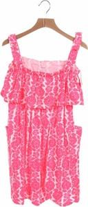 Różowa sukienka dziewczęca Carter's