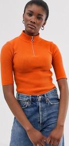 Pomarańczowy sweter Asos Design