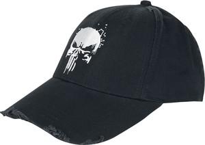 Czarna czapka The Punisher