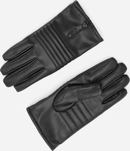 Czarne rękawiczki Reserved