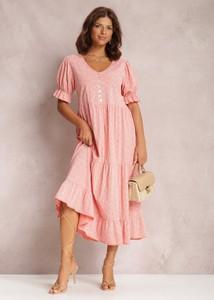 Różowa sukienka Renee oversize