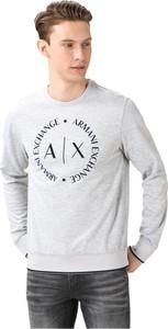 Bluza Armani Exchange z zamszu