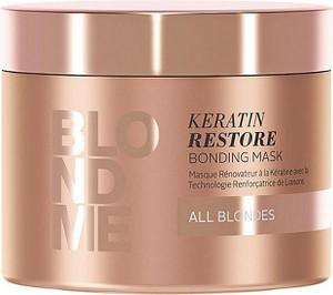 Schwarzkopf Blond Me Keratin Restore All Blondes   Maska do włosów blond 200ml - Wysyłka w 24H!